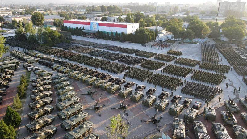 Afghan neighbour Tajikistan holds largest ever military exercise