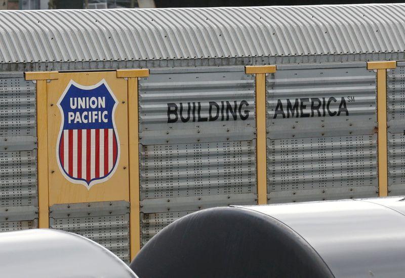 Union Pacific quarterly profit rises 59%