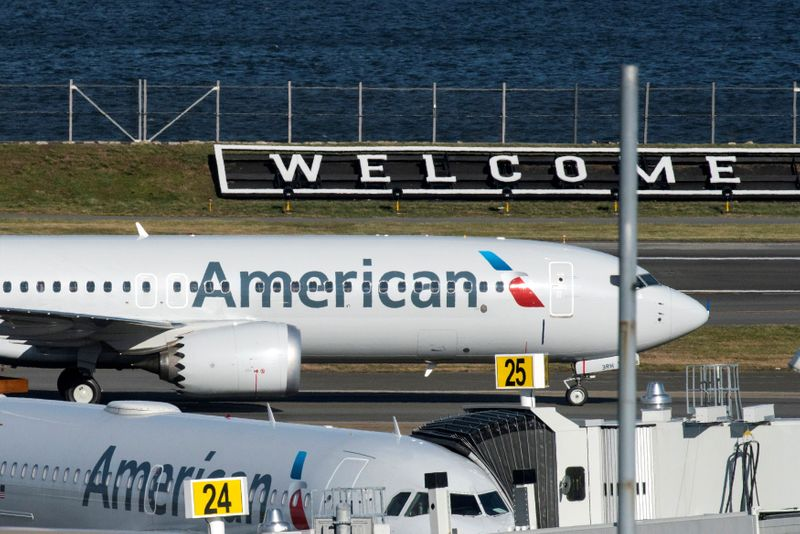 American and Southwest lifted by 'messy' travel rebound, federal aid
