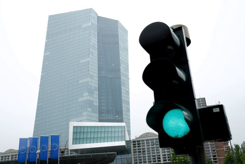 ECB sees some risks to outlook from fresh pandemic wave