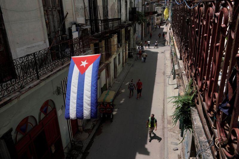U.S. sanctions Cuban security minister, special forces unit over protest crackdown