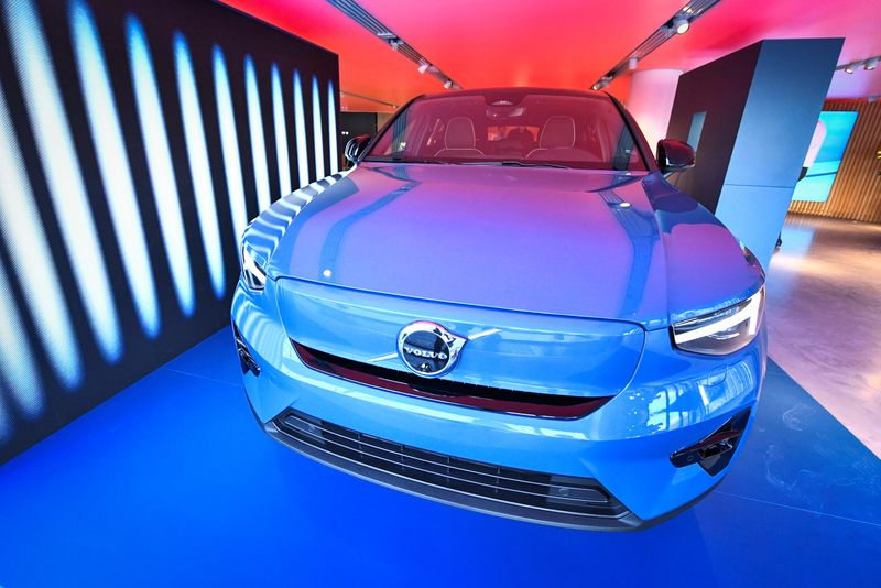 Geely's Volvo Cars swings to profit in first-half
