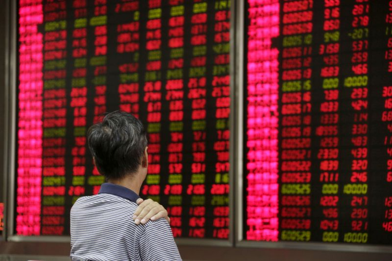 Asia stocks hit 7-month low as China skids, funds favour Wall St