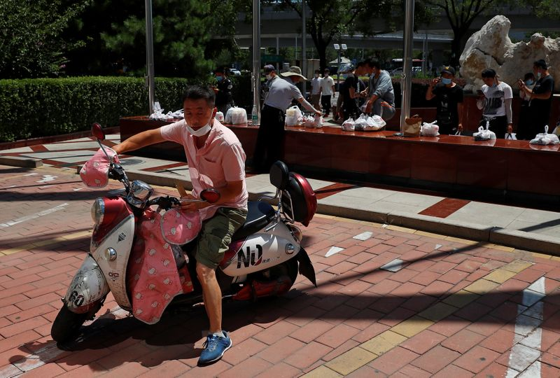 China market regulator boosts food delivery worker protections