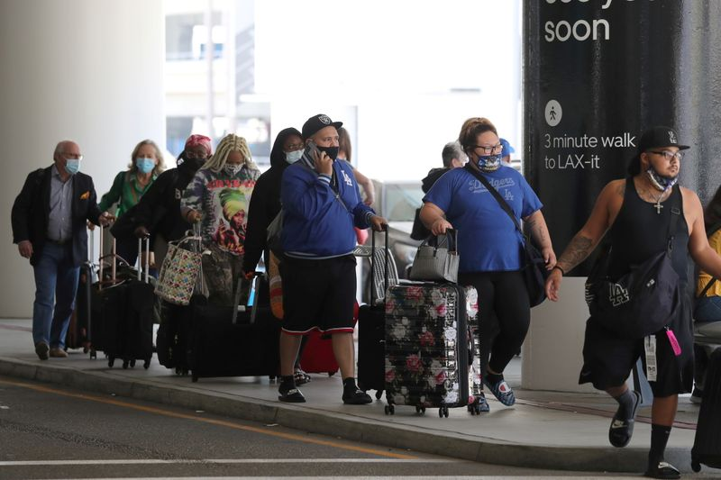 米航空会社の旅客数、5月は5660万人と前月比19%増加