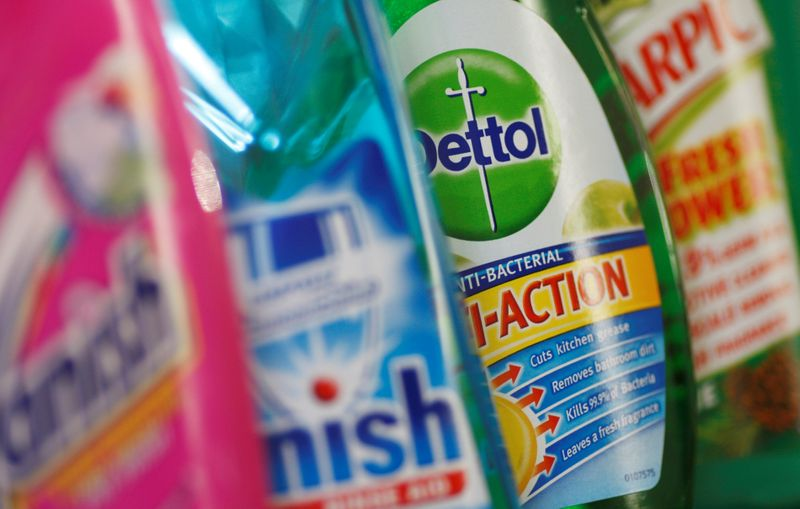 Reckitt reports disappointing Q2 sales, says costs to hit margins