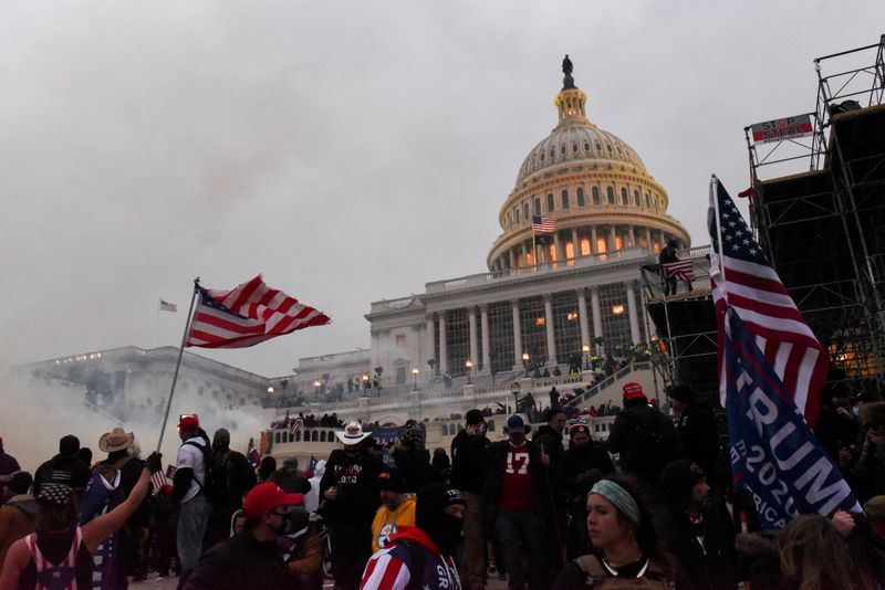 Police recount mayhem and 'attempted coup' in U.S. Capitol riot
