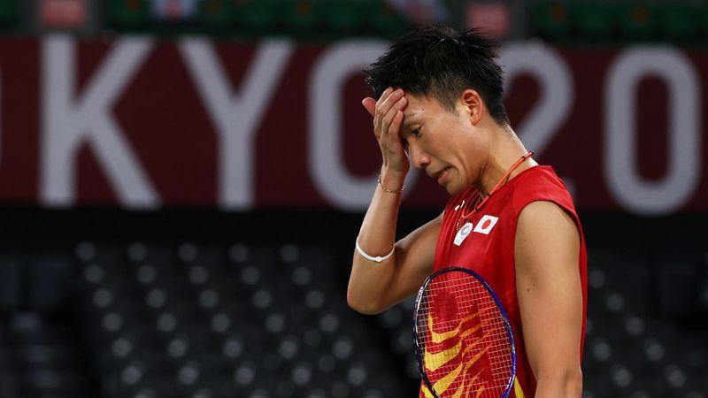 五輪=バドミントン男子シングルス、桃田は予選敗退「流れ止められなかった」