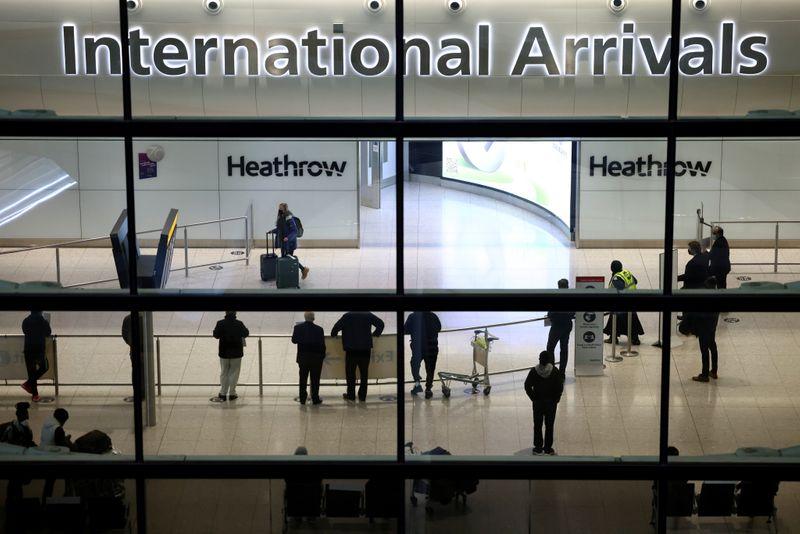 England scraps quarantine for fully vaccinated U.S., EU arrivals