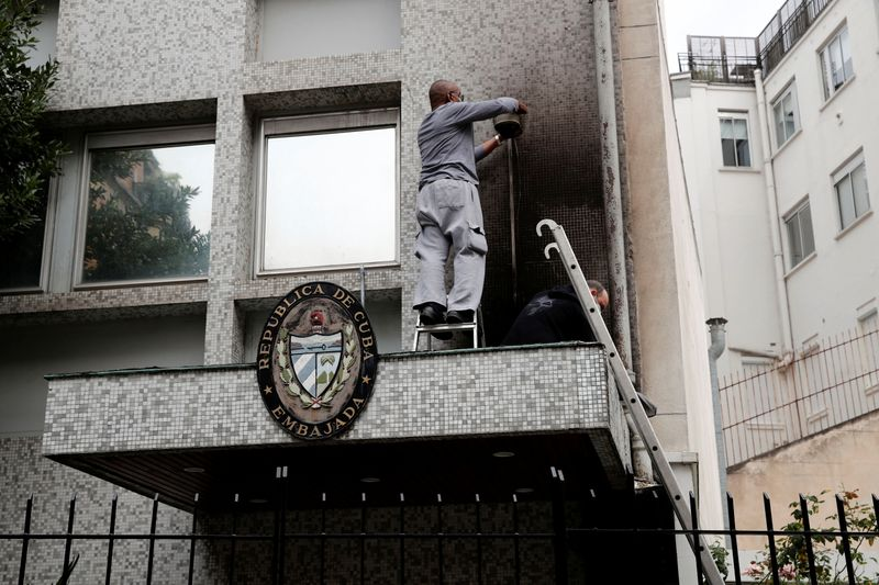 Cuban Embassy in Paris attacked with petrol bombs, France beefs up security