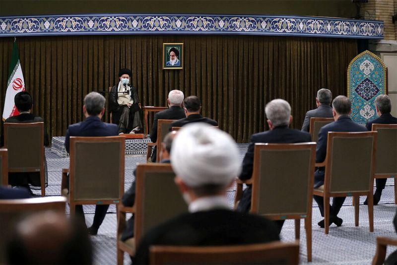 Iran's Khamenei blames 'cowardly' U.S. for pause in nuclear talks