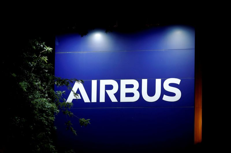 Airbus ups forecasts after big H1 but cautious on virus