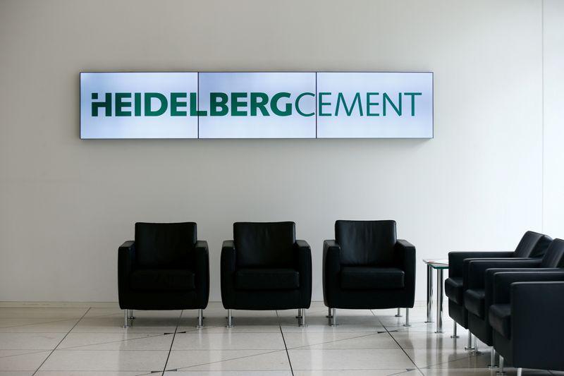HeidelbergCement raises profit outlook on construction activity