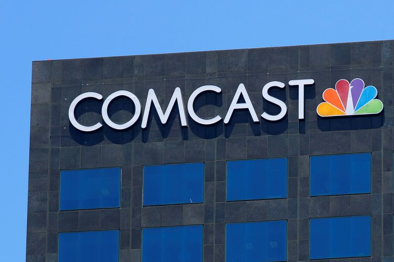 Comcast's quarterly revenue tops estimates, lifted by cable growth