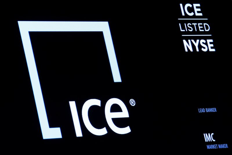 NYSE-owner ICE's second-quarter profit more than doubles
