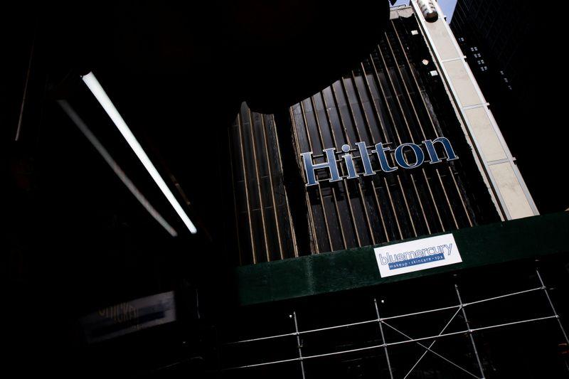 Hilton вернулась к прибыли во 2 кв, ожидает восстановления показателей