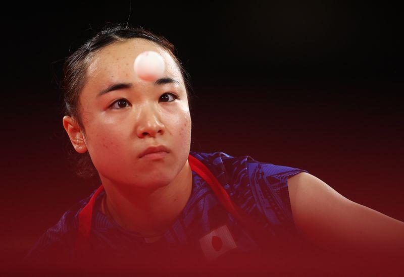 五輪=伊藤美誠、日本初メダルも「悔しい」 卓球女子シングルス銅