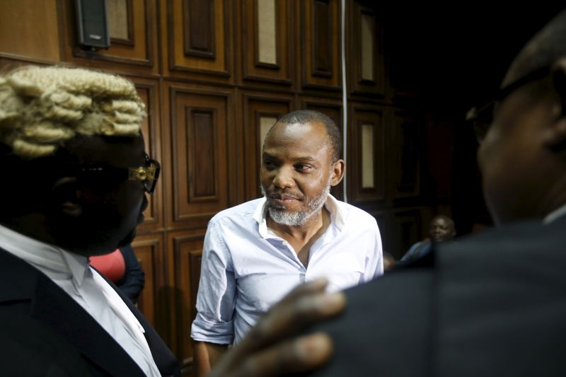 Detained Biafra separatist's family complain to UK over lack of assistance