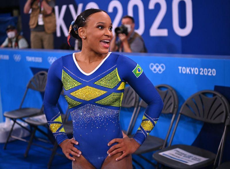Rebeca Andrade conquista medalha de prata histórica para ginástica do Brasil em Tóquio