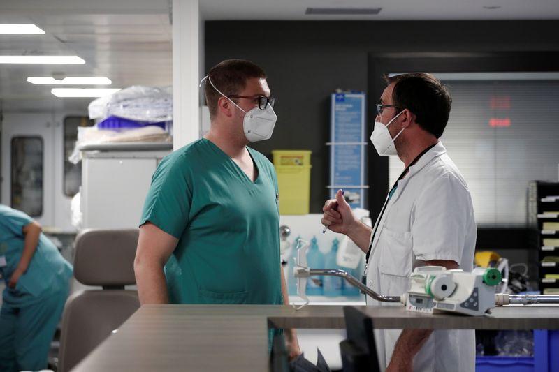 Coronavirus: Le seuil des 1.000 patients en réanimation à nouveau franchi en France