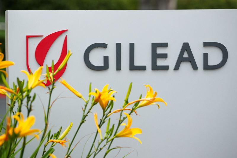 Gilead's COVID-19 drug helps boost 2nd-quarter results as HIV sales dip