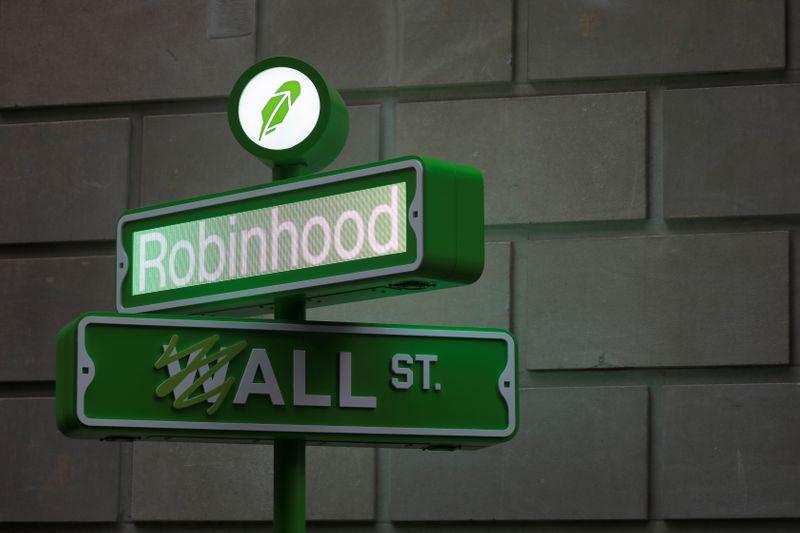 Акции Robinhood упали на 8,4% на дебютных торгах