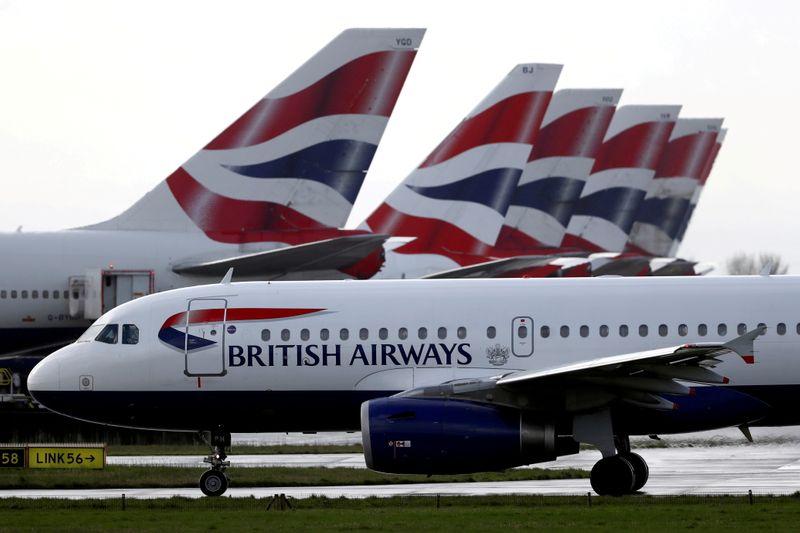 Владелец British Airways отчитался об убытке во 2 кв из-за пандемии