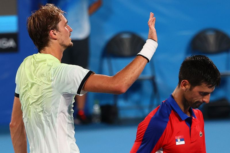 五輪=男子テニスのジョコビッチ敗退、ゴールデンスラム叶わず