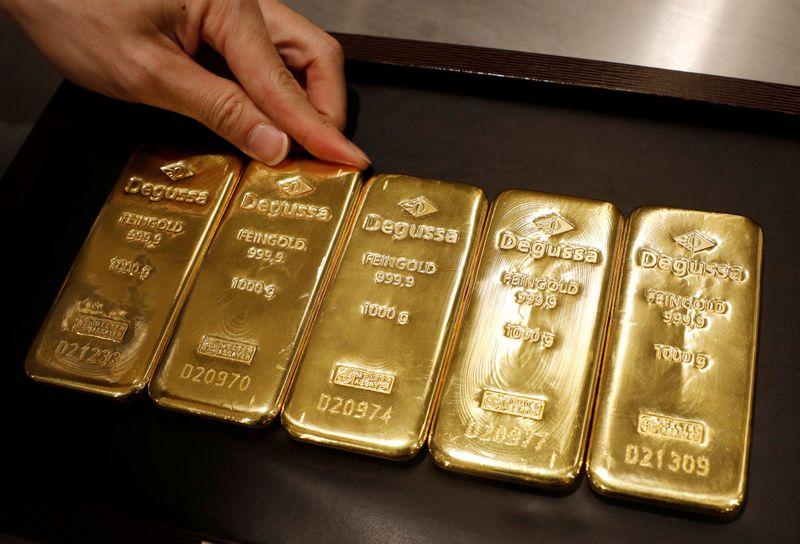 Золото может показать лучший недельный рост за 2 месяца на фоне