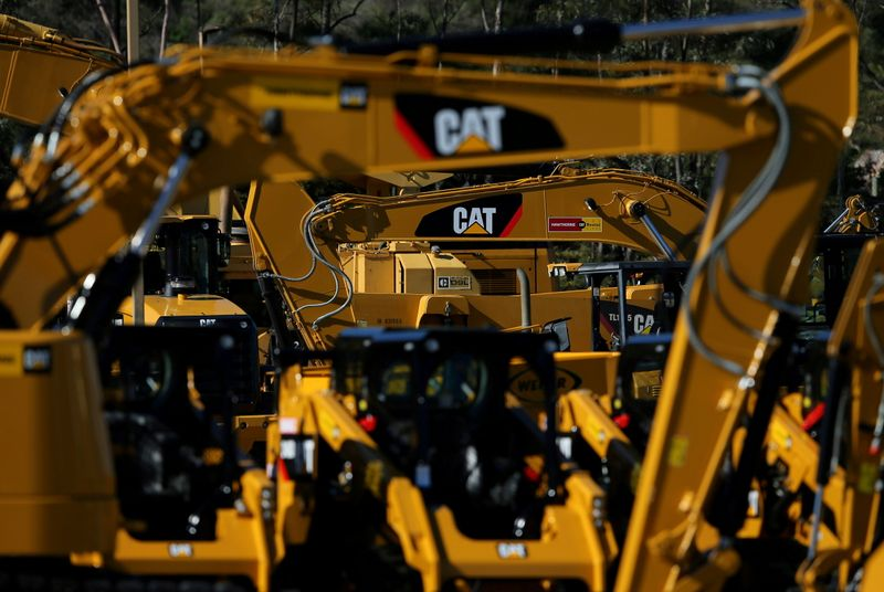 Caterpillar's shares drag on Dow as cost increases set to hurt profits
