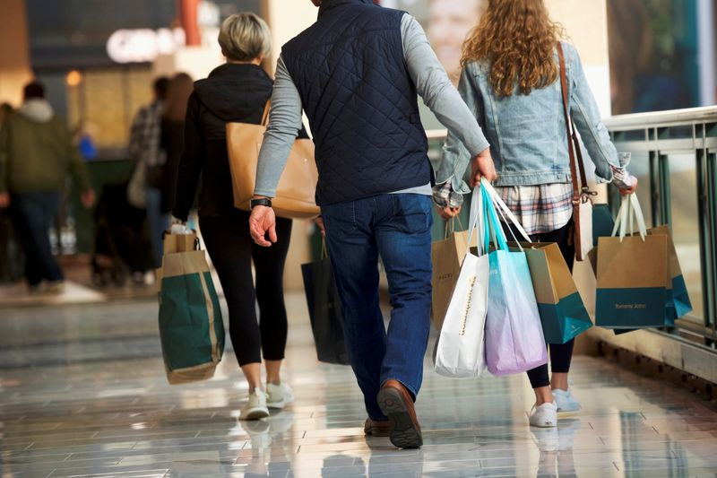 Services buoy U.S. consumer spending; inflation pushes higher