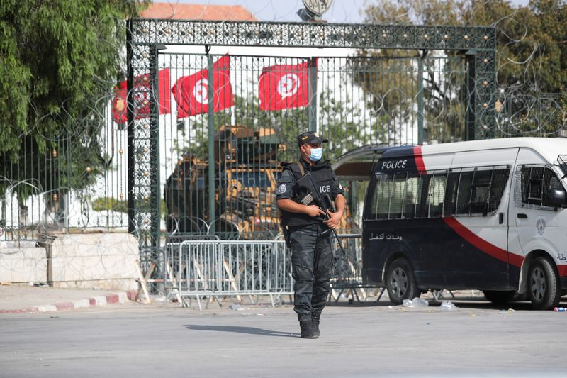 Tunisian president says he will not become a dictator after MP arrest
