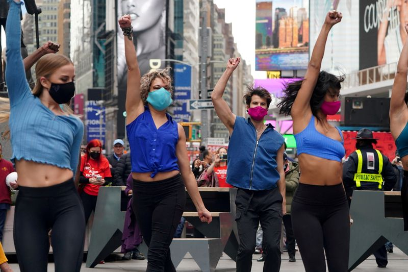 Broadway theaters to require COVID-19 shots and masks when shows reopen