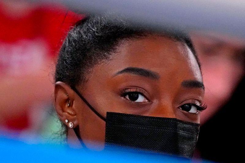 五輪=バッハ会長、体操女子バイルスの告白「勇気ある」と称賛