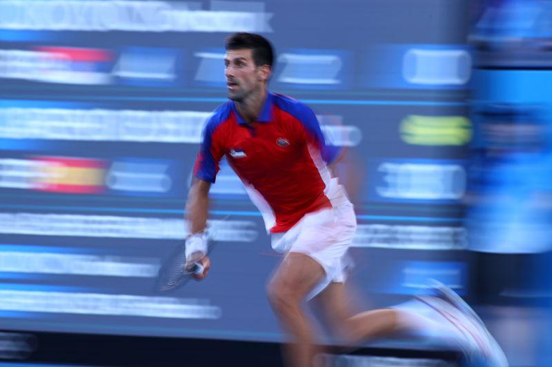 五輪=男子テニスのジョコビッチ、シングルス3位決定戦に敗れメダル逃す