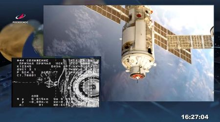 Russia reports pressure drop in space station service module