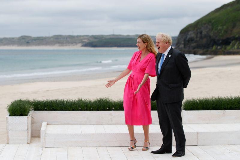 Grande-Bretagne: Boris Johnson et son épouse vont avoir un deuxième enfant