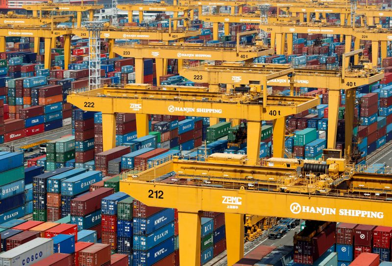 S.Korea July exports jump to record though growth pace slows