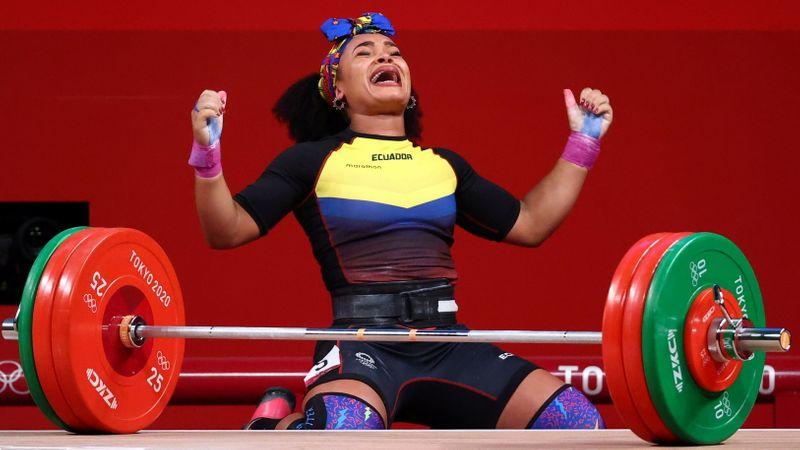 Ecuatoriana Dajomes Barrera gana oro en halterofilia femenina 76 kg, bronce para México