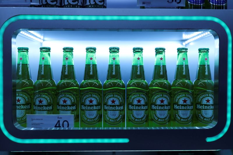 Half full or half empty? Heineken doubles profit, warns on costs