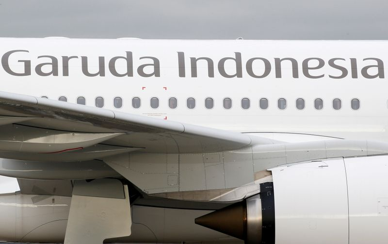 Garuda Indonesia says agrees with lessor early return of 9 Boeing jets