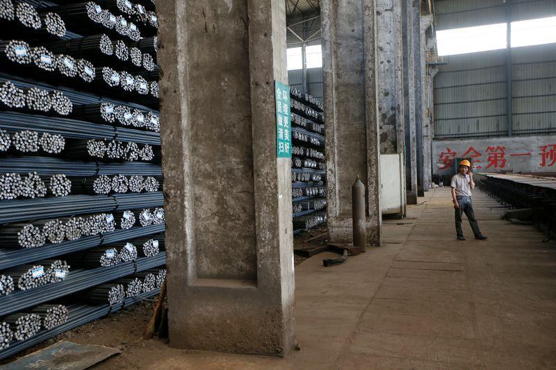 Preços do aço despencam na China por temor de mudanças nas políticas de produção