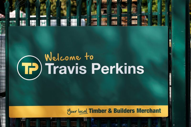 UK's Travis Perkins lifts outlook on strong rebound in construction market