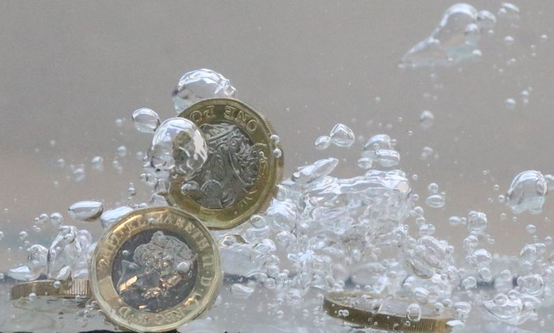 Sterling edges up, helped by optimism about UK COVID-19 outlook