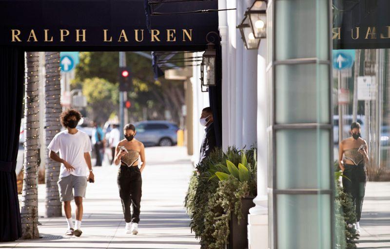 Ralph Lauren beats revenue estimates on luxury rebound, shares rise