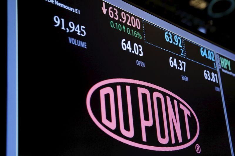 Dupont улучшила прогноз на 2021г на фоне сильного спроса