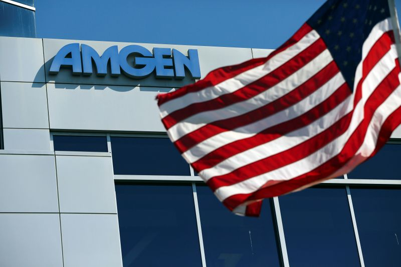 Amgen says it expects pandemic to limit sales through 2021