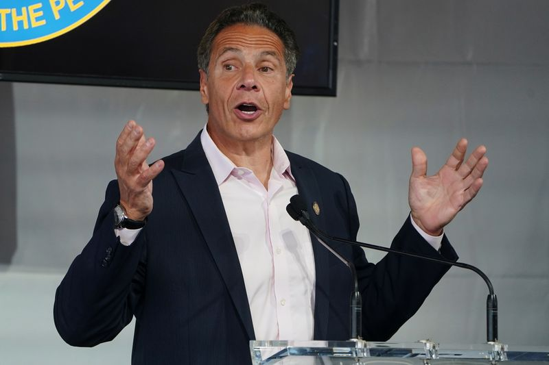 Timeline: Cuomo's fall from grace began with accusation that arose in December 2020