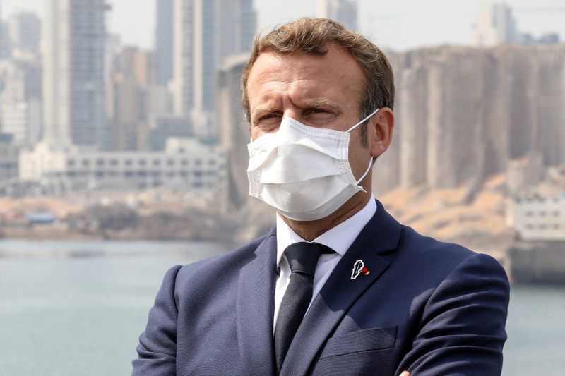 Macron dénonce les faillites du système politique libanais, un an après l'explosion de Beyrouth