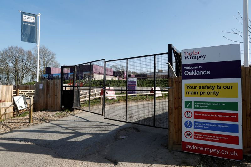 UK's Taylor Wimpey raises annual outlook, swings to H1 profit